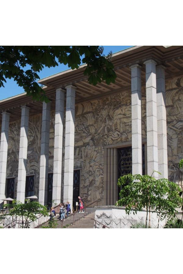 Palais De La Porte Dorée Art Deco Tour Exploreparis