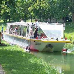 Croisière l'Ourcq au fil de l'eau d'Aulnay à Paris