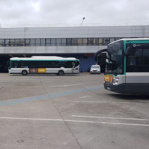 Le centre bus Rives Nord à Saint-Denis