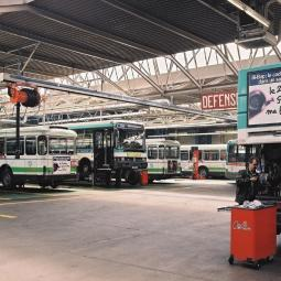 Le centre bus RATP Rives Nord à Saint-Denis - Semaine de l'Industrie