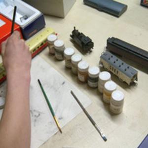 Atelier de modélisme ferroviaire - journées européennes des métiers d'art