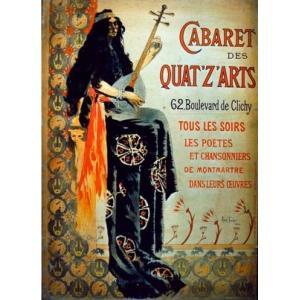 Montmartre, ses cabarets, et la Bohème