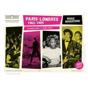 Paris-Londres : Music Migrations (1962-1989)