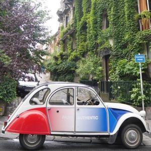 Balade Insoupson'Est dans une 2cv Citroën