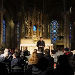 Lecture à la Basilique de Saint-Denis