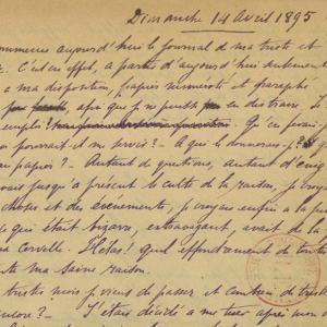 Alfred Dreyfus, Journal, Île du Diable (Guyane)