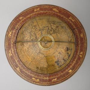 Abbé Jean Antoine Nollet et Louis Borde, Globe terrestre