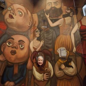 """Visite guidée de l'Exposition """"Imaginarium, bienvenue dans un monde merveilleux"""" au théâtre de l'Avant Seine"""