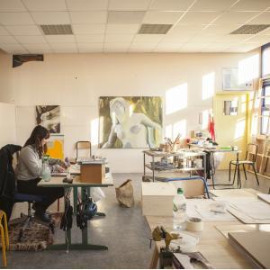 Des artistes résidents dans une école de Bagnolet