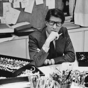 The story of Yves Saint-Laurent, fashion icon