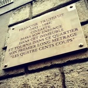 Ciné-balade - Le Paris de François Truffaut