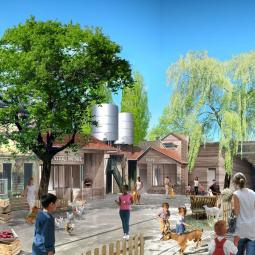 Visit an urban farm in Saint-Denis