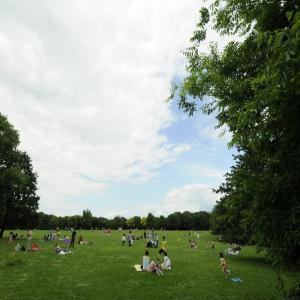Visite du parc départemental  des Chanteraines