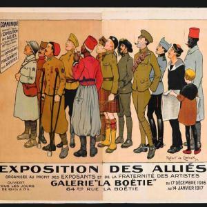 Zoom sur les affiches militaires à Vincennes