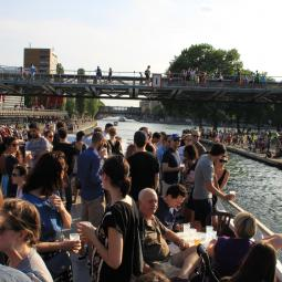 Apéro-jazz cruise with the Deck & Donohue brewerie