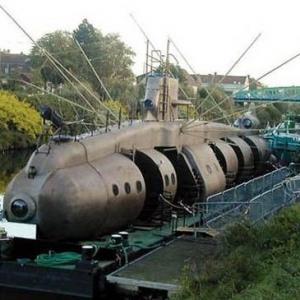 Embarquez à bord de l'Axolotl, le mystérieux sous-marin – parcours spectacle gratuit
