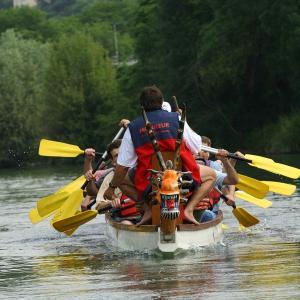 Dragon-Boat sur la Marne à Champigny