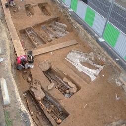 La nécropole des Mastraits, chantier de fouilles à Noisy-le-Grand