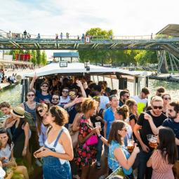 Groovie cruise with the « Fessée Musicale» and «Cracki Records»