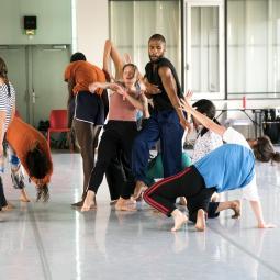 Visite et immersion au CND Centre national de la danse