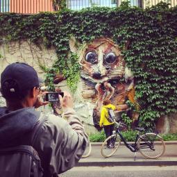 Balade street art à vélo de Paris à Choisy