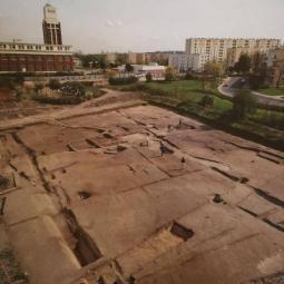 Démonstration de combats de gladiateurs, archéologie expérimentale