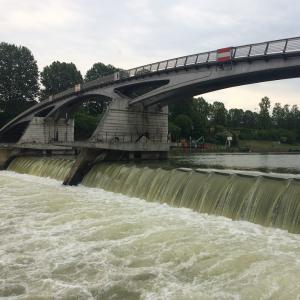 Visite du barrage écluse de Saint-Maurice / Maisons-Alfort