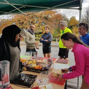 Atelier cuisine zéro déchet dans le parc de la Bergère