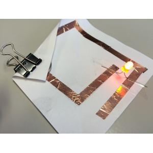 Atelier fabrication de luciole (origami et électronique)
