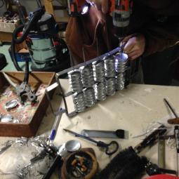 Atelier fabrication d'instruments en récup' avec TALACATAK