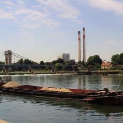 Vélo-rando en bord de Seine amont