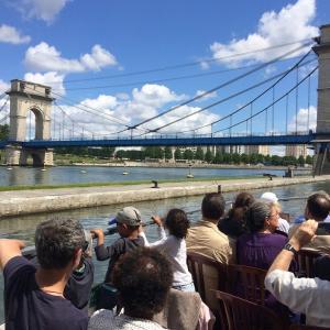 Croisière sur la Seine : de Juvisy à la Confluence