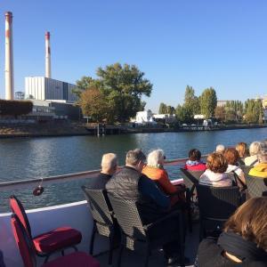 Croisière sur la Seine amont : de Juvisy à la Confluence