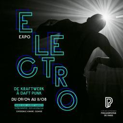 Croisière ELECTRO et visite de l'exposition à la Philharmonie de Paris