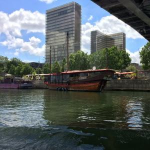 Croisière sur la Seine : architectures au bord de l'eau