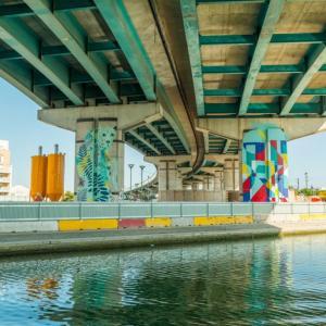 La Street Art Avenue, le long du canal Saint-Denis - Journées du Patrimoine