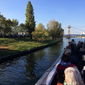 Croisière développement durable sur la Seine amont