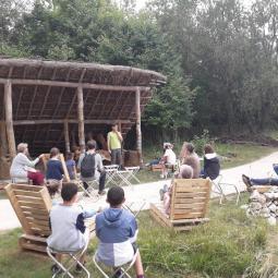 Lecture animée de L'Odyssée d'Homère à l'archéosite de la Haute-île