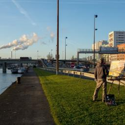 Balade-exposition sur les quais de Seine