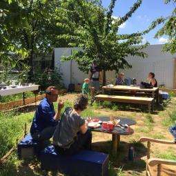 Croisière et déjeuner dans le jardin de La Petite Oasis