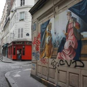 Parcours Street Art à Montmartre