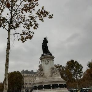 La place de la République, un lieu symbolique