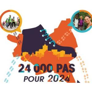 Balade 24 000 pas pour 2024 ! - départ de Saint-Ouen - parcours 2