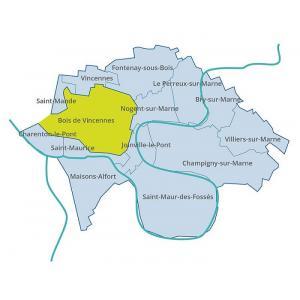 Des bords de Marne au Bois de Vincennes, la Belle Époque en cartes postales
