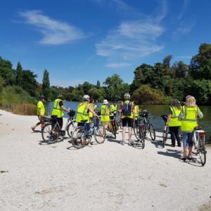 L'art à vélo : balade à vélo dans le bois de Vincennes