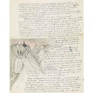 L'Antre d'Araigne, 1944 © Ilustration du Hobbit 1937 - ©Bodleian Library / The Tolkien Estate Limited