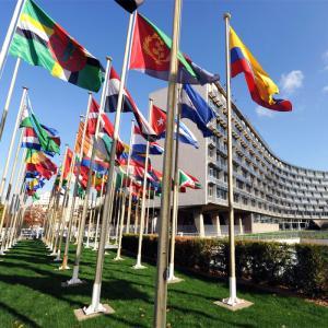Behind the scenes of the UNESCO headquarters © Michel Ravassard