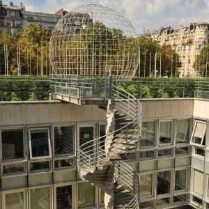 Behind the scenes of the UNESCO headquarters © Dou Matar, UNESCO