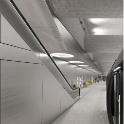 RATP - Chantier de la future station Clichy Saint-Ouen de la ligne 14