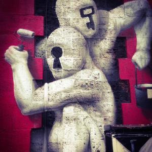 """Balade """"l'art du graff"""" dans le 19e arrondissement de Paris"""